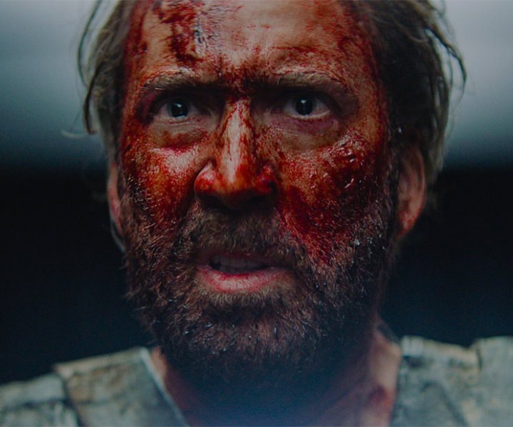 Nicolas Cage appears in <i>Mandy</i> by Panos Cosmatos, an official selection of the Midnight program at the 2018 Sundance Film Festival. Courtesy of Sundance Institute.  All photos are copyrighted and may be used by press only for the purpose of news or editorial coverage of Sundance Institute programs. Photos must be accompanied by a credit to the photographer and/or 'Courtesy of Sundance Institute.' Unauthorized use, alteration, reproduction or sale of logos and/or photos is strictly prohibited.
