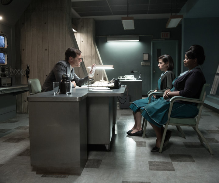 (From L-R) Michael Shannon, Sally Hawkins and Octavia Spencer in the film THE SHAPE OF WATER. Photo by Kerry Hayes. © 2017 Twentieth Century Fox Film Corporation All Rights Reserved